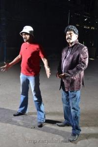 Dr.Srinivasan at Azhagan Azhagi Movie Shooting Spot Stills