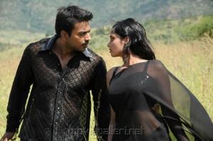 Jack, Aarushi in Azhagan Azhagi Movie Hot Stills