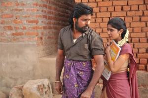 Arjun Uday, Malavika Wales in Azhagu Magan Movie Images HD