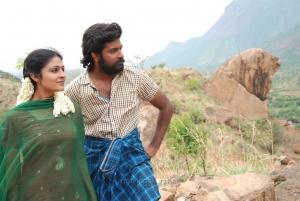 Malavika Wales, Arjun Uday in Azhagu Magan Movie Images HD