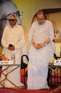 MS Viswanathan, Vaali at B.Nagi Reddy Award 2012 Function Photos
