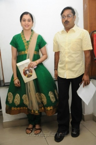Devayani, Rajakumaran at B.Nagi Reddy Award 2012 Function Photos