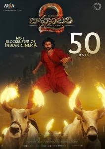 Prabhas's Baahubali 2 Movie 50 Days Posters