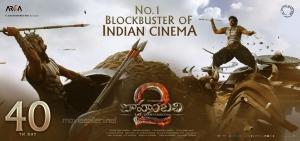 Rana, Prabhas in Baahubali 2 Movie 40th Day Wallpapers
