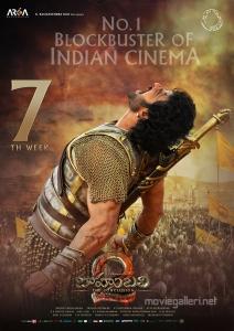 Prabhas Baahubali 2 Telugu Movie 7th Week Posters