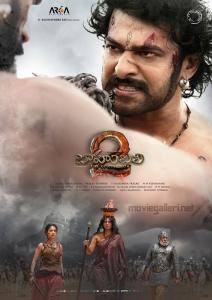 Prabhas Tamanna Anushka Sathyaraj  Baahubali 2 Movie 7th Week Posters