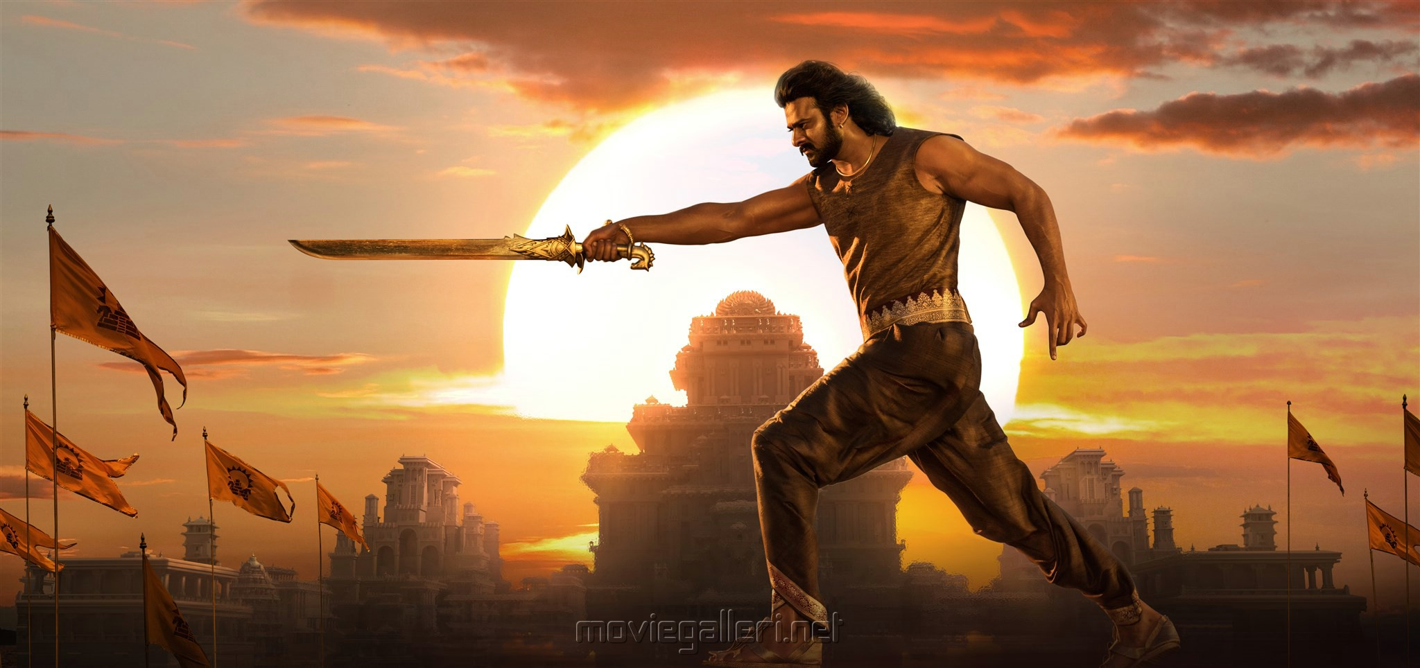 Hero Prabhas in Baahubali 2 Movie HD Images