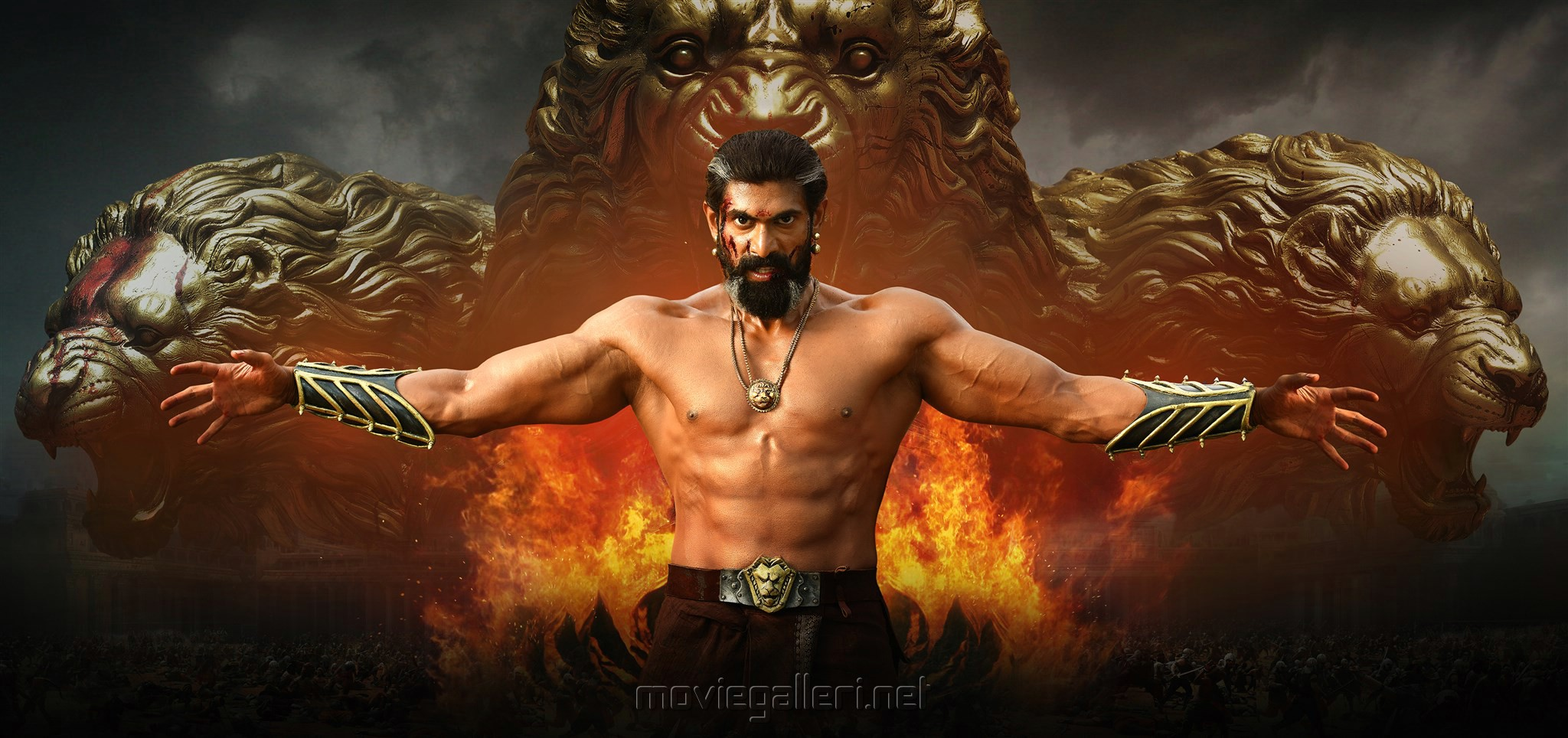 Picture 1188320 Rana Daggubati Baahubali 2 Movie Stills