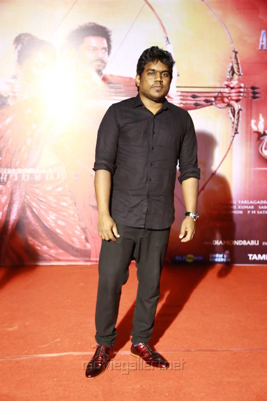 Yuvan Shankar Raja @ Baahubali 2 Tamil Audio Launch Photos