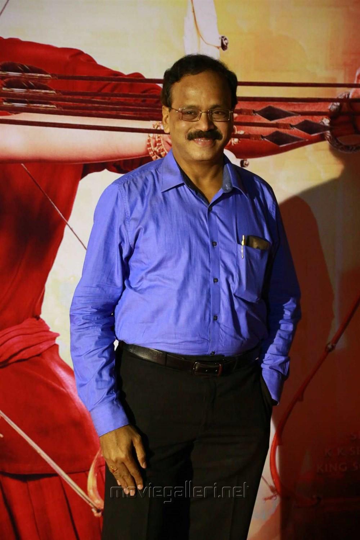 G Dhananjayan @ Baahubali 2 Tamil Audio Launch Photos
