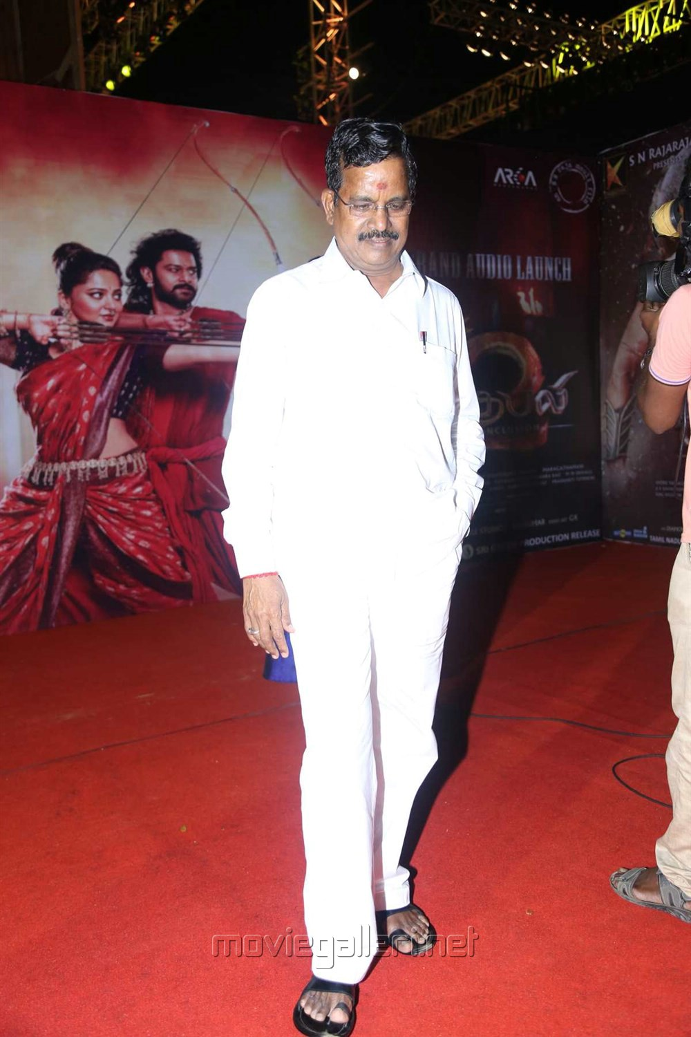 Kalaipuli S Thanu @ Baahubali 2 Tamil Audio Launch Photos