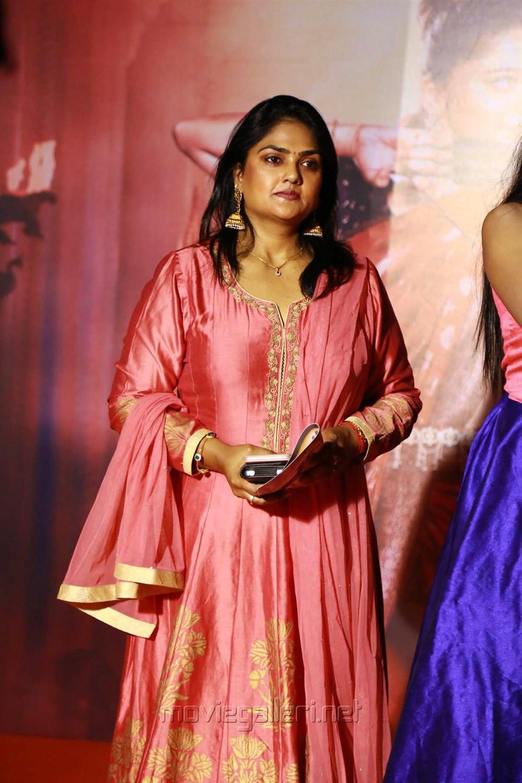 Actress Nirosha @ Baahubali 2 Tamil Audio Launch Photos