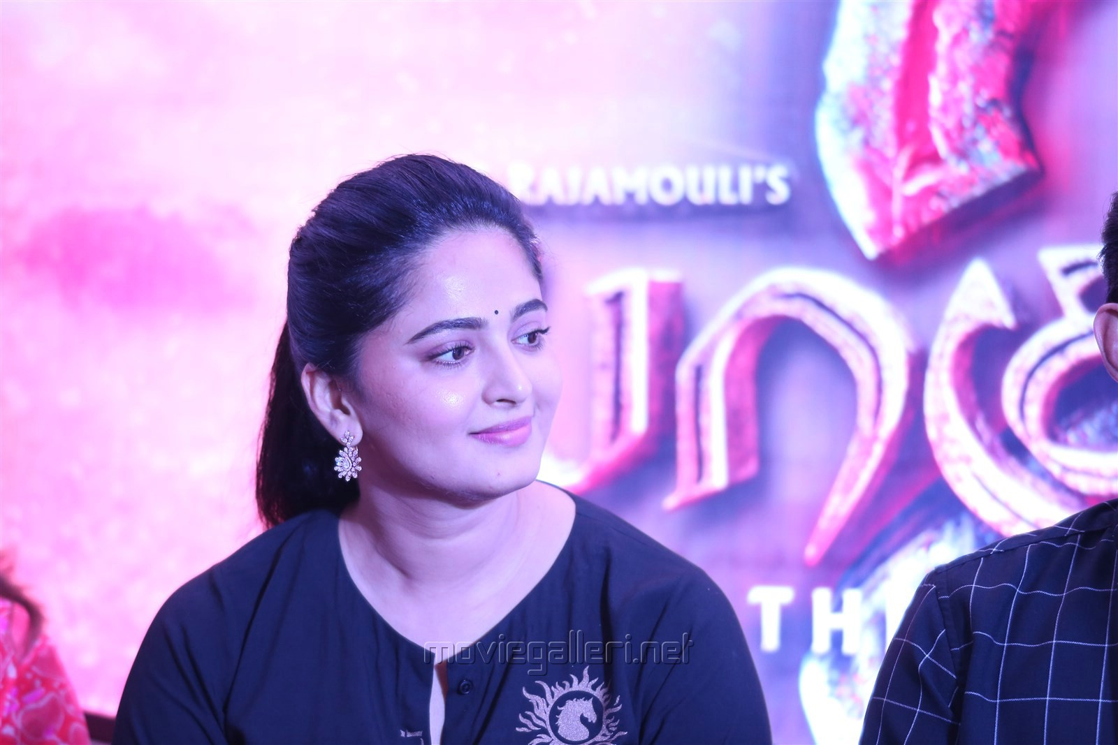 Anushka Shetty @ Baahubali 2 Press Meet Stills