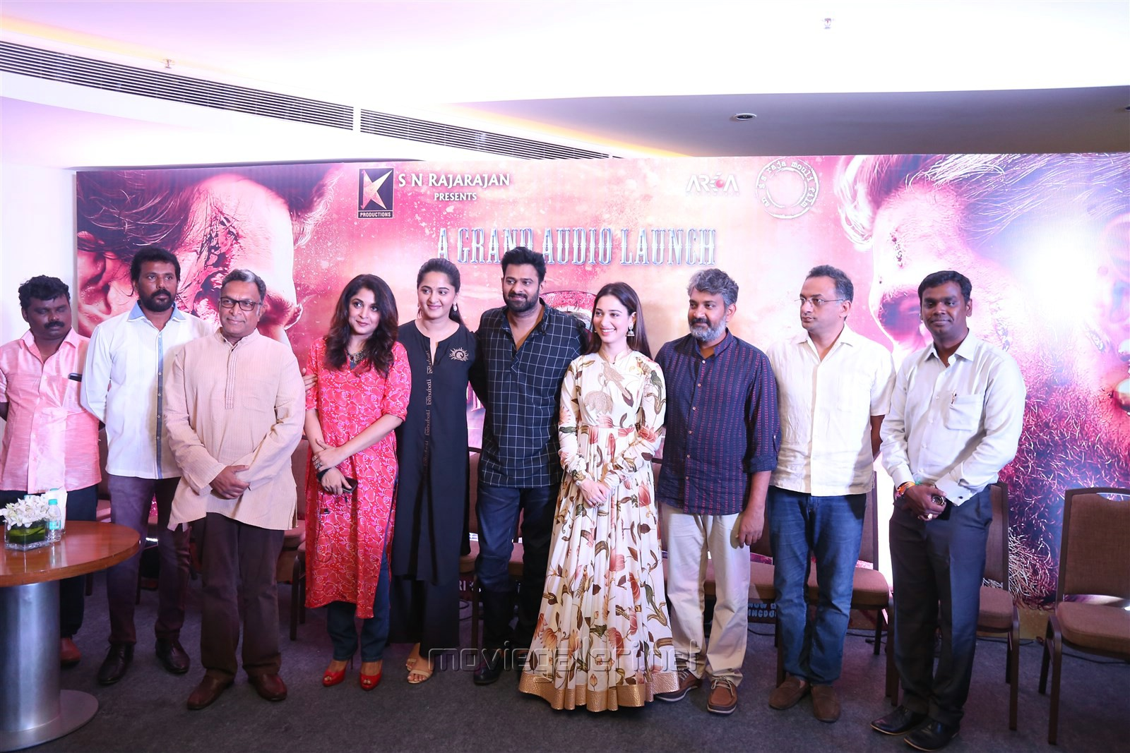 Baahubali 2 Press Meet Stills