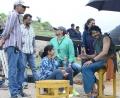 Rama Rajamouli, Prabhas @ Baahubali Movie Shooting Spot Stills