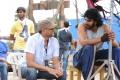Shobu Yarlagadda, Prabhas @ Baahubali Movie Shooting Spot Stills
