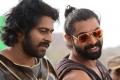 Prabhas, Rana Daggubati @ Baahubali Movie Shooting Spot Stills