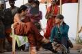 Ramya Krishnan, Anushka @ Baahubali Movie Shooting Spot Stills