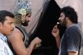 Rana Daggubati, Prabhas @ Baahubali Movie Shooting Spot Stills
