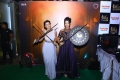 Actress Nikki Galrani & Sanjjanaa @ Baahubali VR Zone IIFA Utsavam 2017 Photos