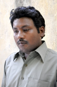 Director and Hero Seenu in Baanu Movie Photos