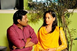 GV Seenu, Aishwarya Sant in Baanu Movie Photos