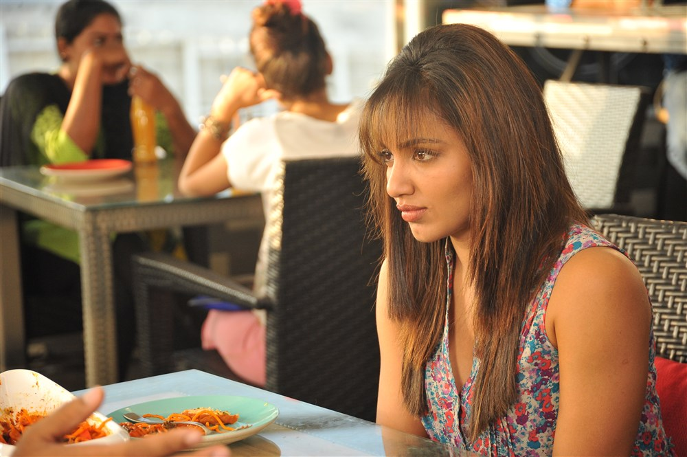 Actress Tejaswi Madivada in Babu Baga Busy Movie Latest Stills