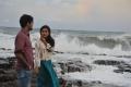 Mishti Chakraborty, Srinivas Avasarala in Babu Baga Busy Movie Latest Stills