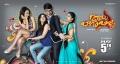 Tejaswi Madivada, Mishti Chakraborty, Srinivas Avasarala, Supriya Aysola in Babu Baga Busy Movie Release Posters