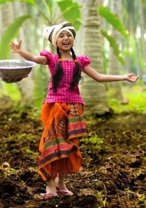 Baby Sara Arjun Photos in Dagudumutha Dandakor Movie