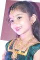 Baby Sara in Silk Pavadai Sattai Stills
