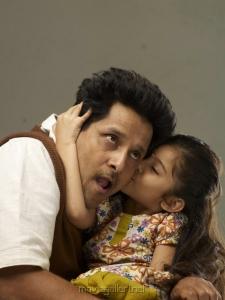 Vikram, Baby Sara in Deiva Thirumagan