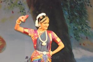Bharatanatyam Dancer Baby Varshini Photos
