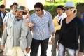 Peter Heins,V V Vinayak @ Badrinath Movie Shooting Spot Stills