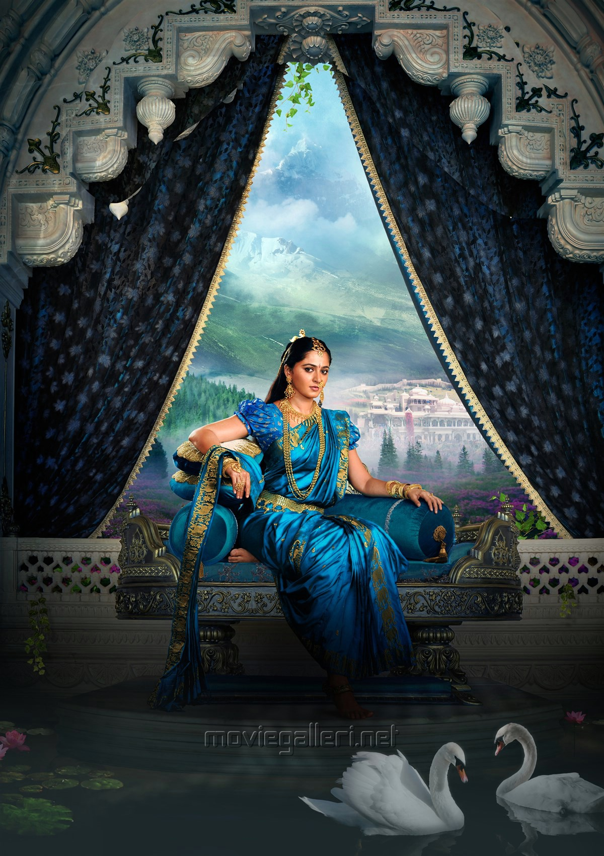 Picture 1190929 actress anushka gorgeous baahubali 2 new - Bahubali 2 poster hd ...