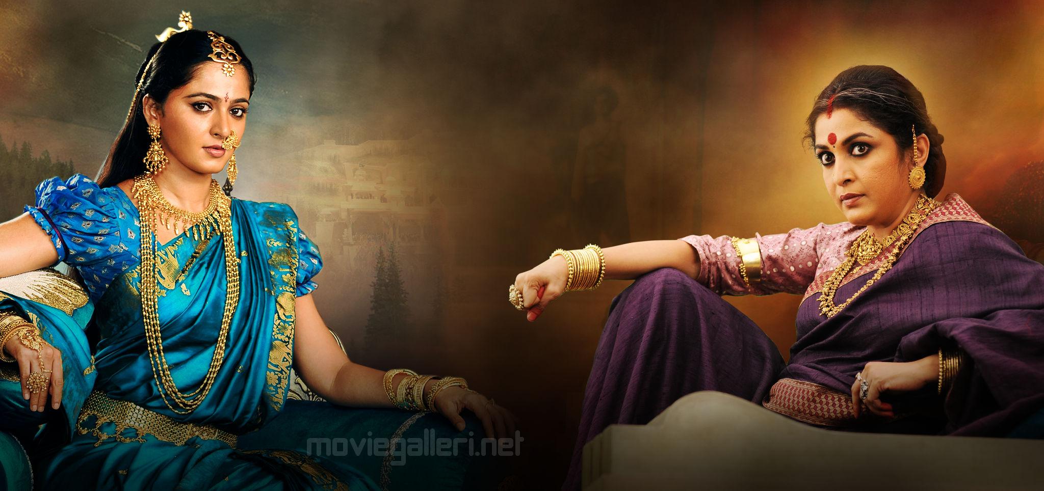 Anushka Shetty, Ramya Krishnan in Baahubali 2 New Images HD