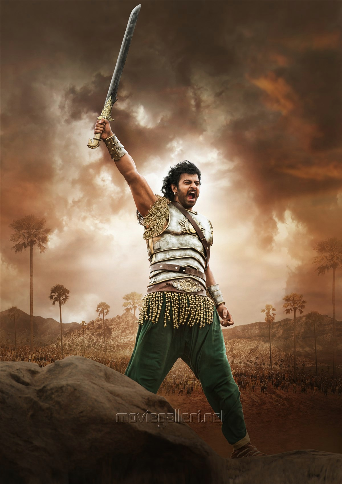 Hero Prabhas in Baahubali 2 New Images HD