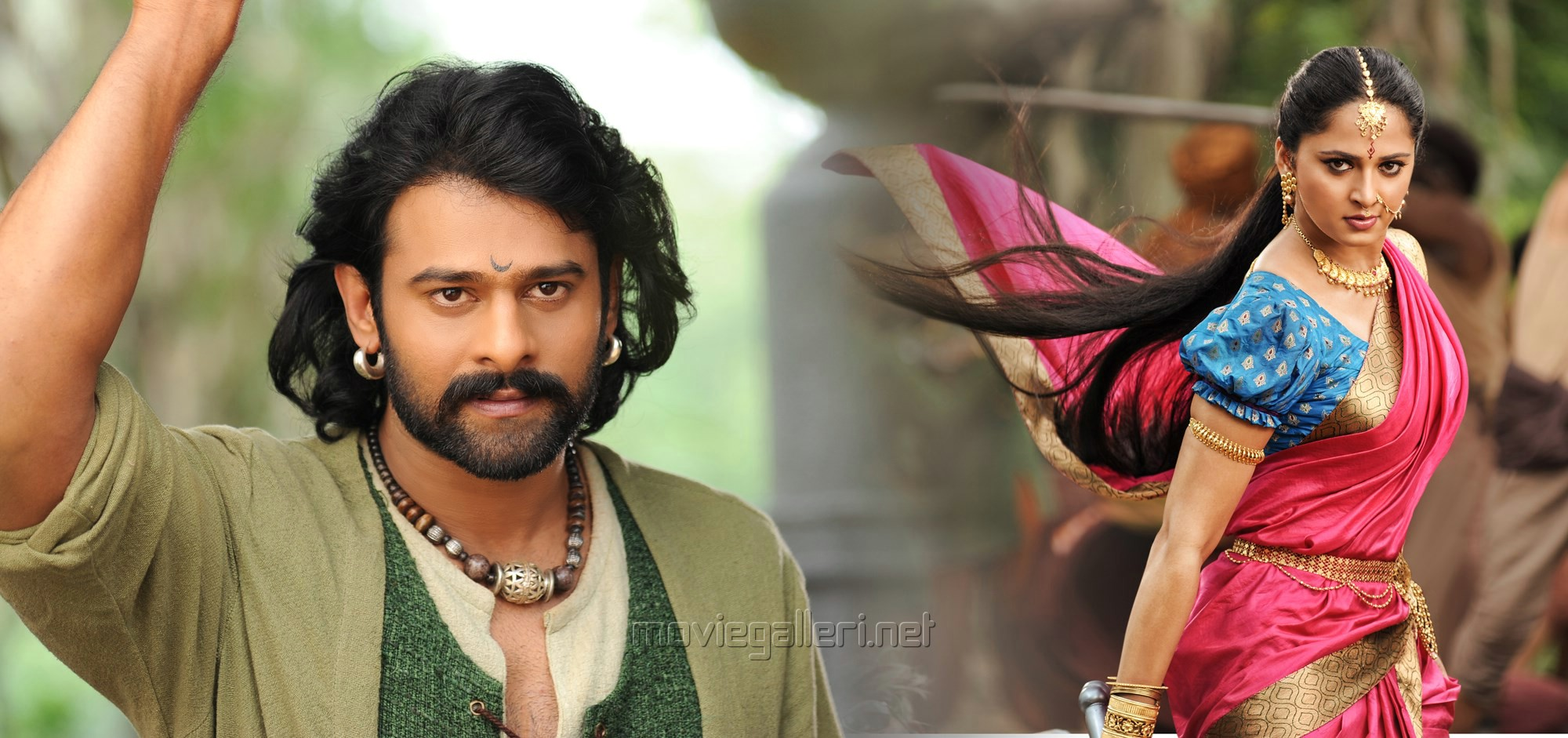 Prabhas, Anushka in Baahubali 2 New Images HD