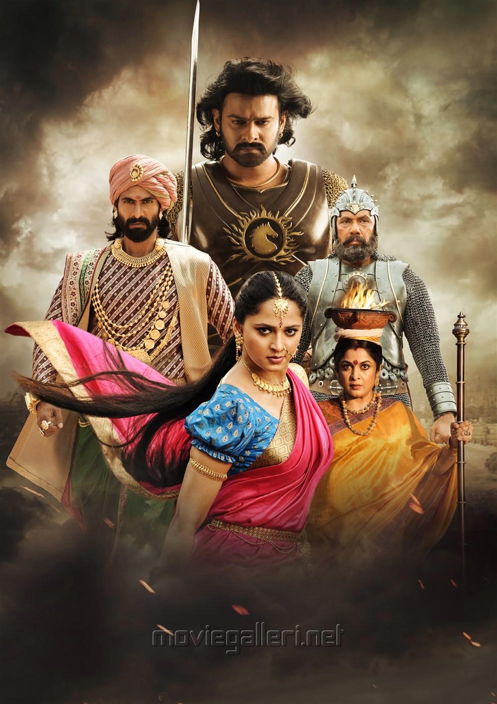 Rana, Prabhas, Anushka, Sathyaraj, Ramya Krishnan in Baahubali 2 New Images HD