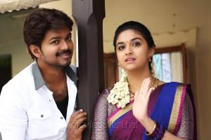Vijay & Keerthy Suresh in Bairavaa Movie New Stills