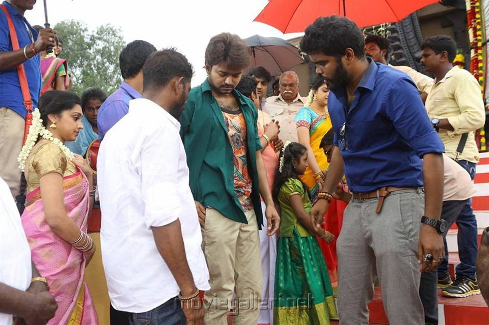 Bairava Shooting Spot Images