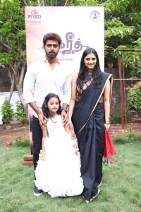 Vikranth, Baby Shruthika, Vasundhara Kashyap @ Bakrid Movie Press Meet Stills