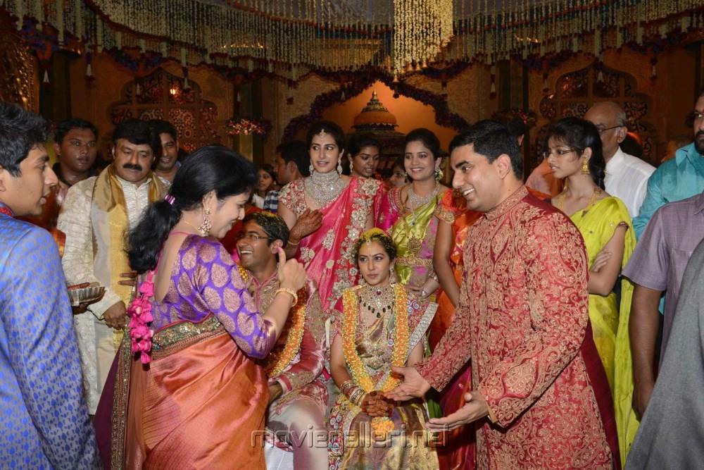Balakrishna Daughter Tejaswini Marriage Photos | Sribharat