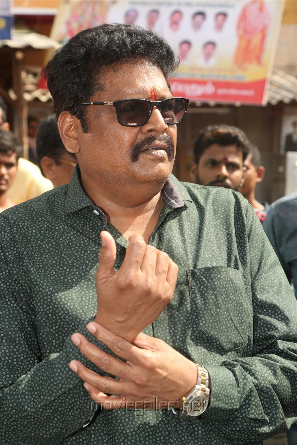 Director KS Ravikumar @ Balakrishna New Movie Opening Stills