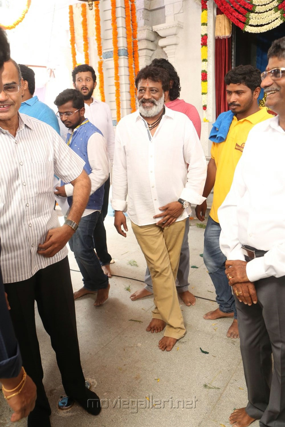 Korrapati Ranganatha Sai @ Balakrishna Puri Jagannadh Movie Launch Stills