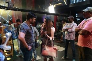 Nara Rohit, Diksha Panth @ Balakrishnudu Movie Working Stills