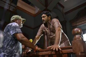 Pavan Mallela, Ajay @ Balakrishnudu Movie Working Stills