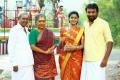 Sangili Murugan, Kovai Sarala, Tanya, Sasikumar in Balle Vellaiyathevaa Movie Stills