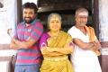 M.Sasikumar, Kovai Sarala, Sangili Murugan in Balle Vellaiyathevaa Movie Stills