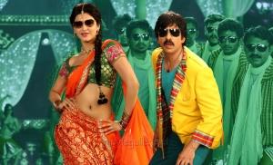 Shruti Hassan, Ravi Teja in Balupu Hot Images